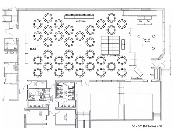 Floor plan wedding reception thecarpets co for Wedding reception layout